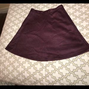 Skater skirt with hidden pockets